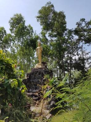 Eine weitere Buddha Geste