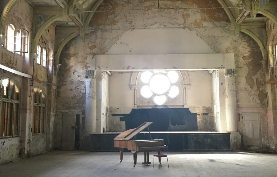 Beelitz Heilstätten - großer Saal