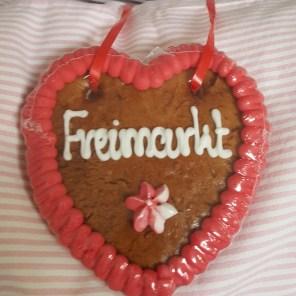 Lebkuchenherz Freimarkt Bremen