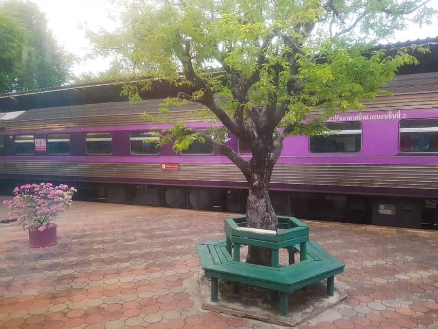 Mit dem Zug nach Chiang Mai