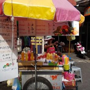 Fruitshakes auf der Khao San