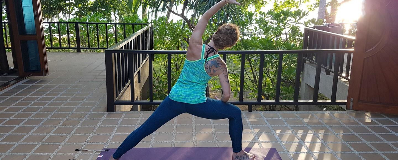 YOGO: die kompakte Yogamatte für unterwegs