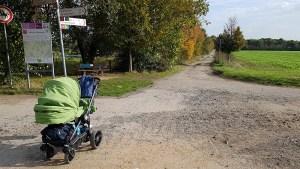 Mit dem Kinderwagen rund um Stommeln