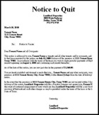 Minnesota strict language eviction notice kit notice to quit eviction notice thecheapjerseys Image collections
