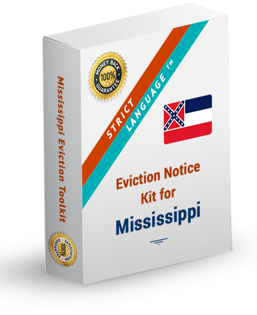 mississippi strict language eviction notice kit