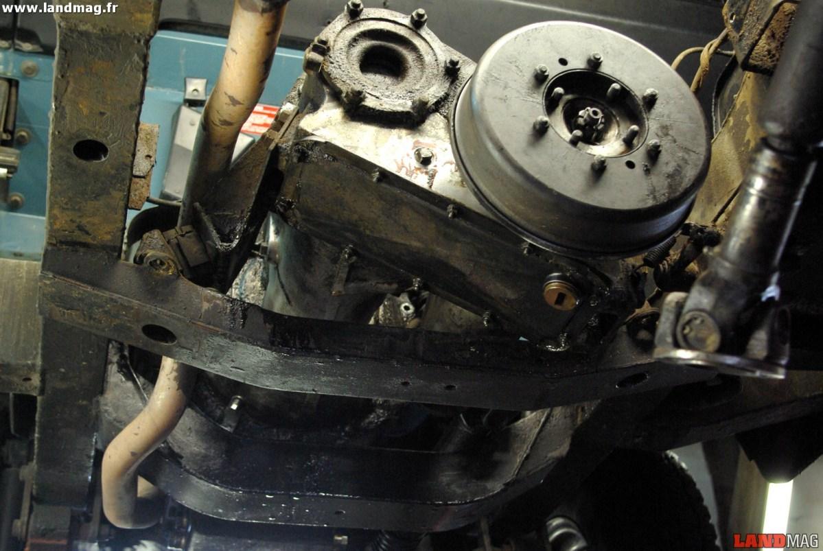 Méca : l'entretien des boîtes de vitesses et de transfert Land Rover