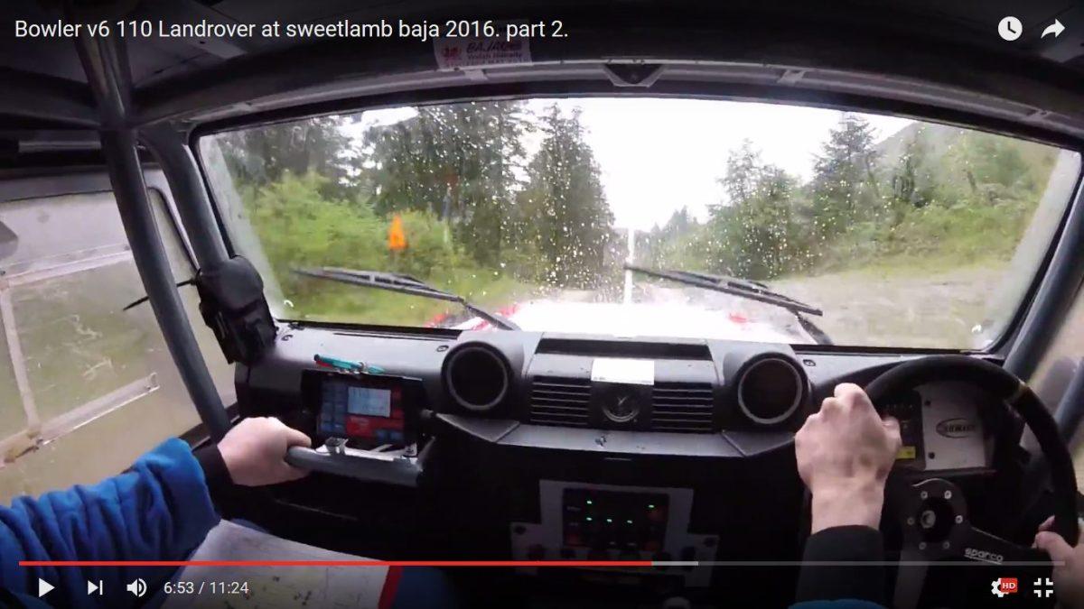 Vidéo : à bord du Land Rover Defender 110 V6 Bowler