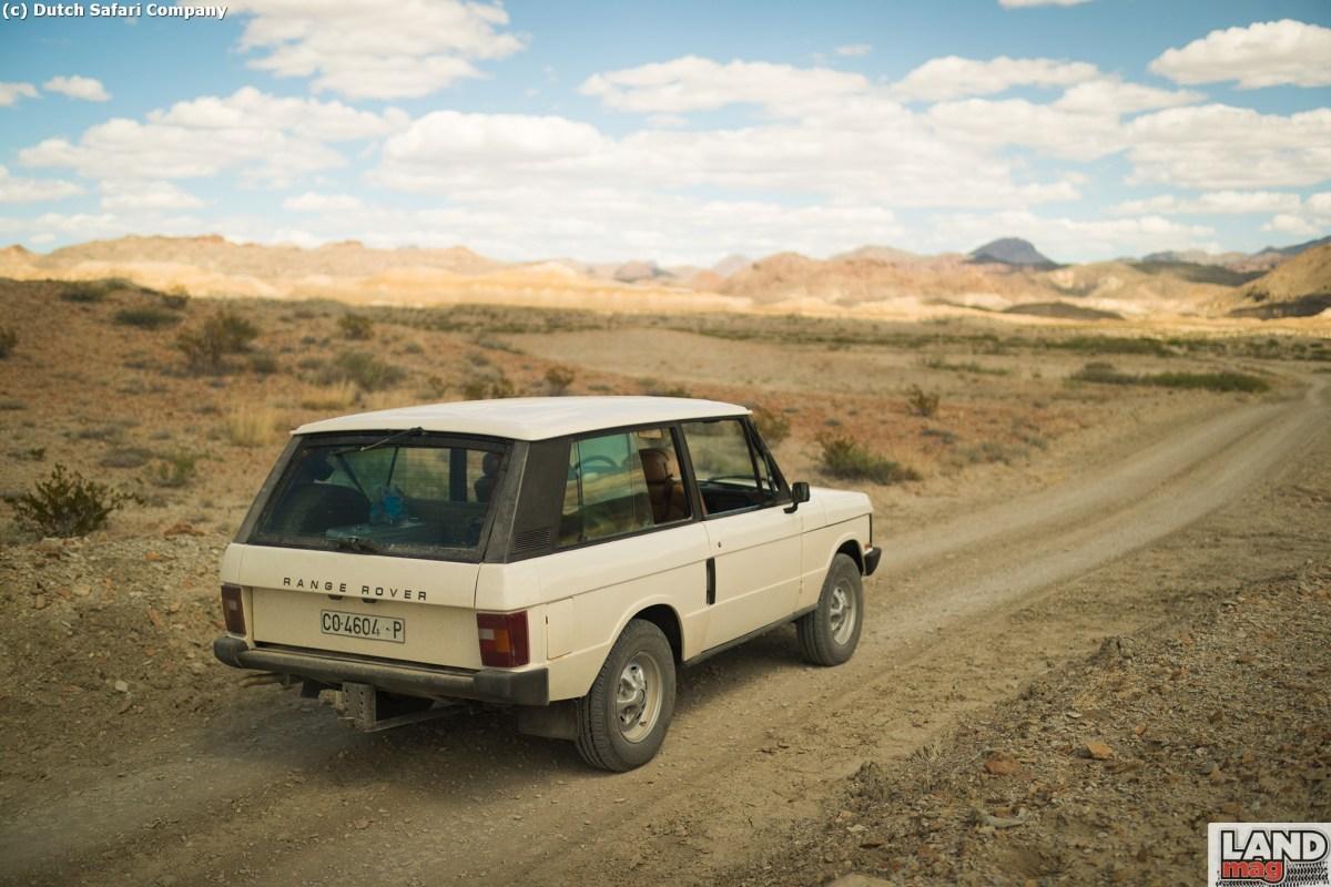 Vidéo: un roadtrip au Texas en Range Classic V8