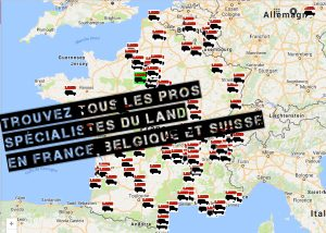 Exclusif: la carte des pros du Land
