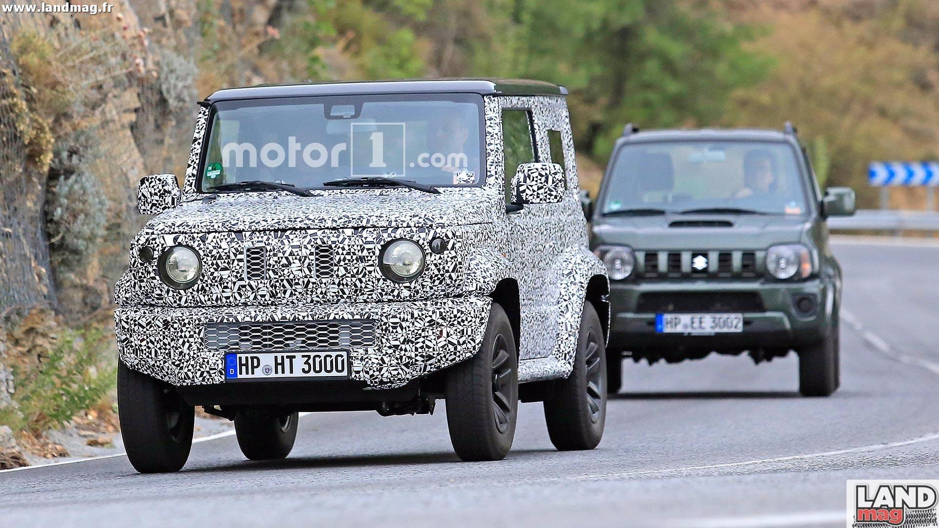 Populaire Jeep Wrangler, Mercedes Classe G: quelle place pour le futur  ED95