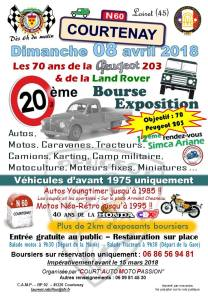 20° Bourse Auto de Courtenay @ Courtenay | Courtenay | Centre-Val de Loire | France