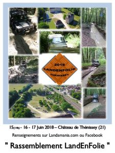 Rassemblement LandEnFolie 2018 @ Thenissey | Thenissey | Bourgogne Franche-Comté | France