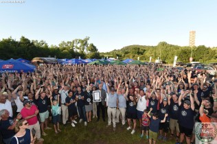70 Jahre Land Rover Weltrekord Parade in Bad Kissingen am 30.05.2018