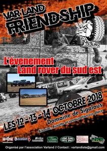 4° Var Land Friendship 2018 (ANNULÉ) @ Domaine de Sigalous | La Crau | Provence-Alpes-Côte d'Azur | France