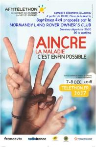 Baptêmes 4x4 pour le Téléthon à Luneray @ Luneray | Luneray | Normandie | France