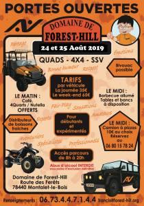 Portes Ouvertes Août - Domaine de Forest Hill @ Montalet le Bois | Montalet-le-Bois | Île-de-France | France