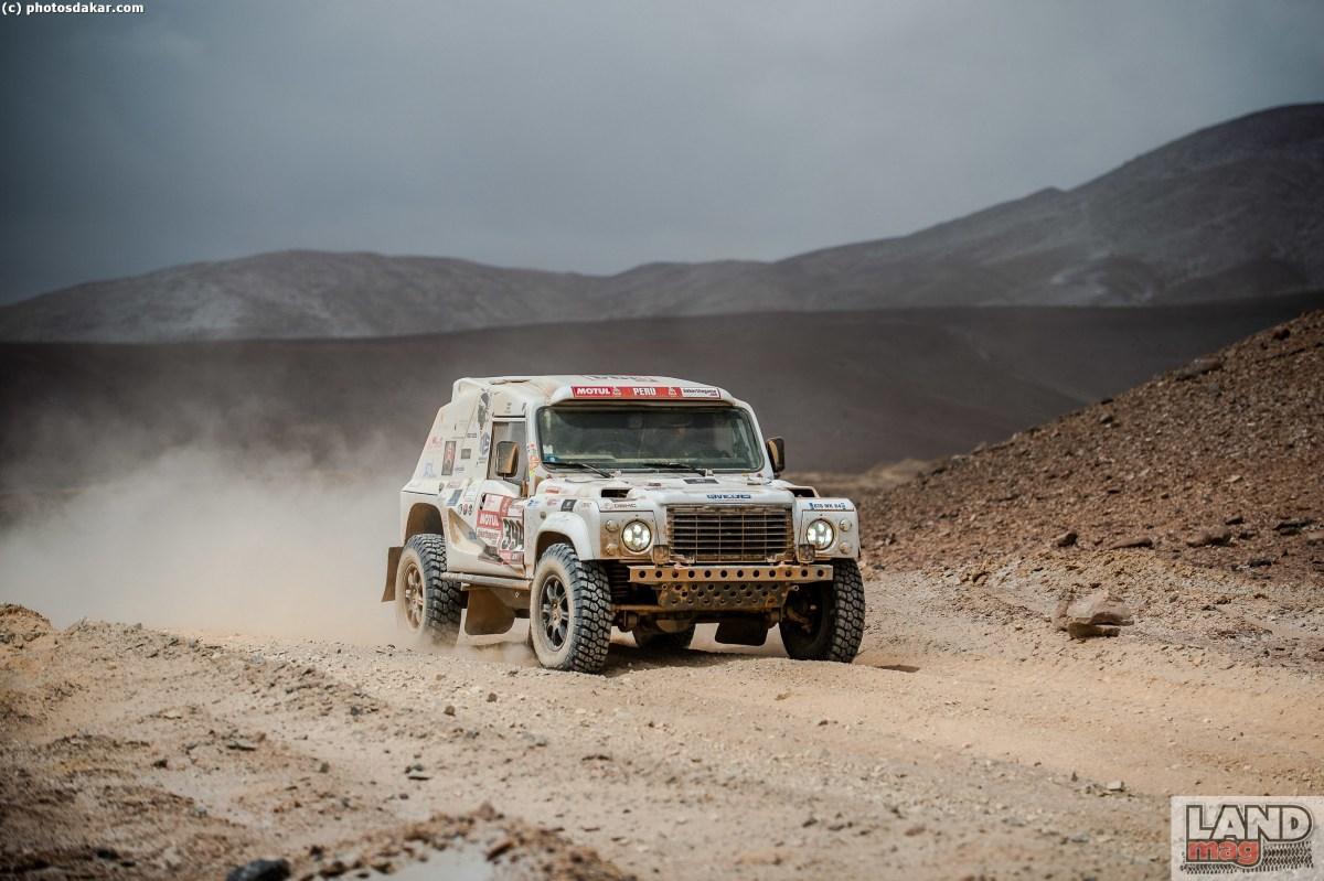 Dakar 2019: le Land Rover Bowler dans la course!