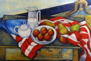 """Painting titled """"Still Life"""""""