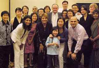 Randy McNamara leads forum in Singapore