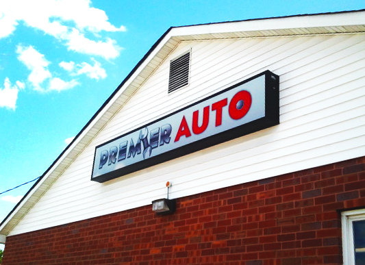 Premier Auto is located at 7700 North Lindbergh in Hazelwood.  (314)938-3398.   www.stlpremier.com