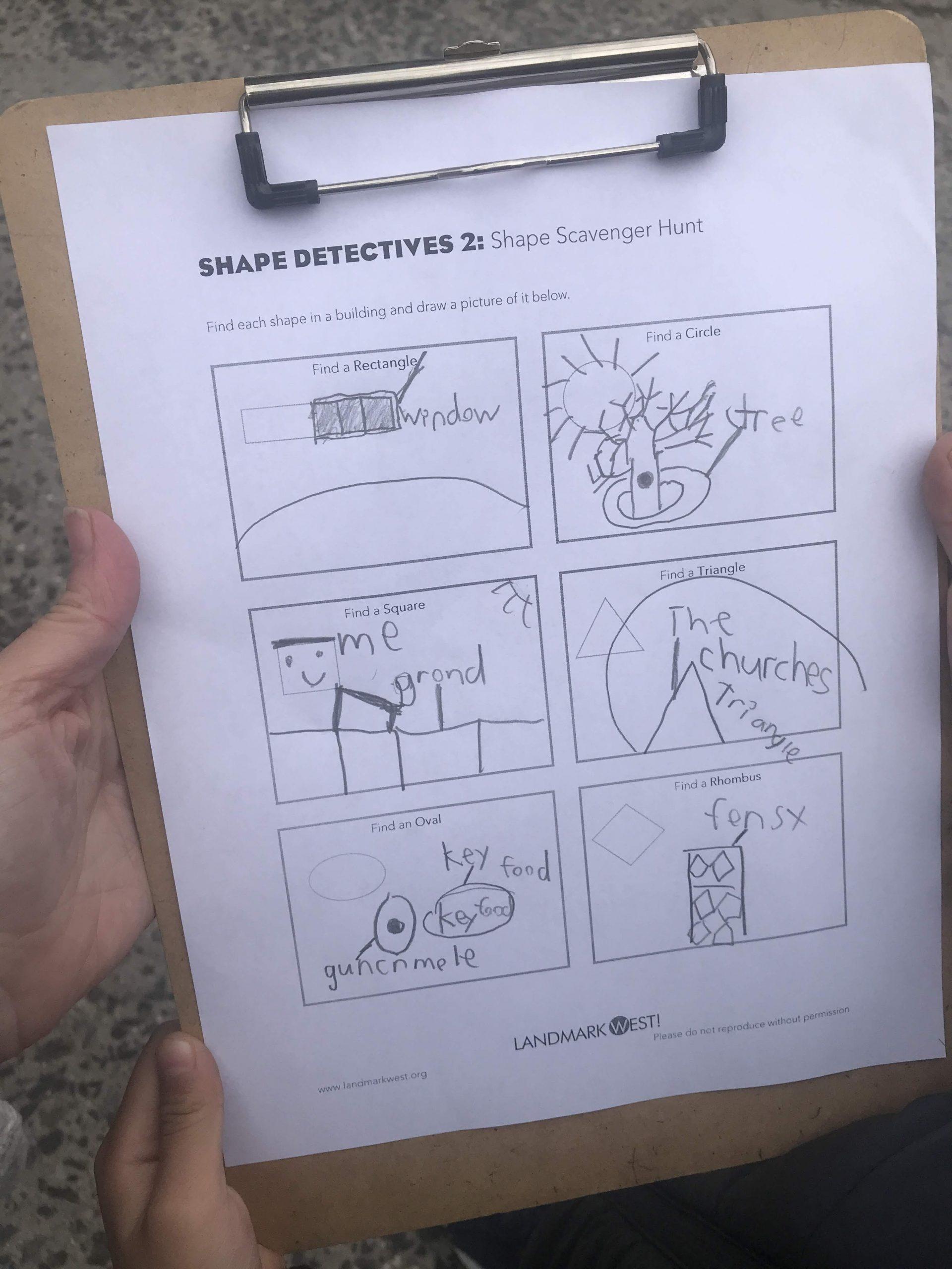 Shape Detectives Home