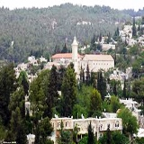 Ein Karem birthplace of John the Baptist in the Judean Hills