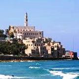 Old Jaffa by the Mediterranean