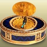 Islamic art museum clock 160X160