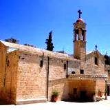Nazareth St Gabriel church built over the Spring of Mary