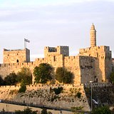 Jerusalem: Tower of David at Jaffa Gate