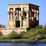 Trajan's Temple formerly at Philae in Upper Egypt