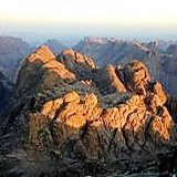 Mt. Sinai mountains at sunrise