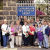 Capernaum: Fr.Bob Colaresi's group that Zack Shavin guided