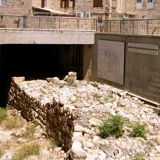 Broad Wall from wall from Isaiah & Nehemiah's day in Jerusalem' Jewish Quarter