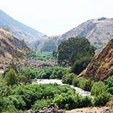 Jordan River valley in the footsteps of Elijah and John the Baptist