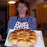 Fresh baked Challah bread