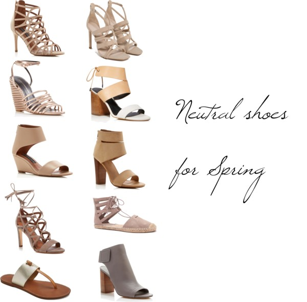 spring neutral shoes