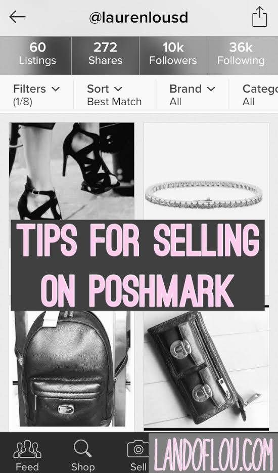 Tips for Selling on Poshmark