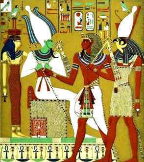 Image result for horus, isis, osiris, Ra