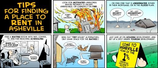 """Rental Guidance"" cartoon by Brent Brown"