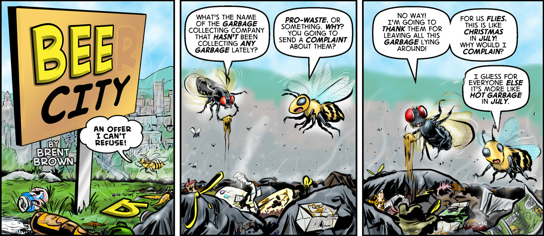 Bee City IV: Trash Vegas