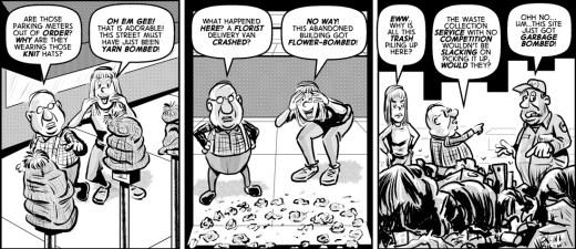 """Da Bomb"" cartoon by Brent Brown"