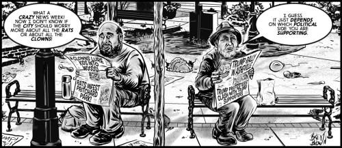 News of The Weird Week - cartoon by Brent Brown