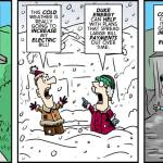 Duke Energy raises cartoon by Brent Brown