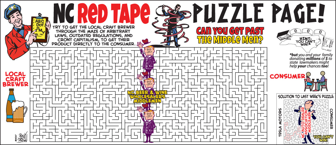 NC Red Tape Puzzle Page