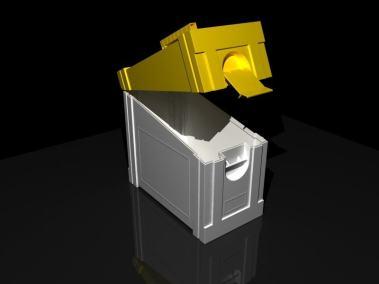 diseño de caja para calzado y caja de herramientas
