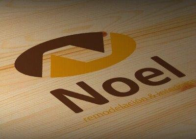 Diseño de logotipo NOEL, remodelación e interiores
