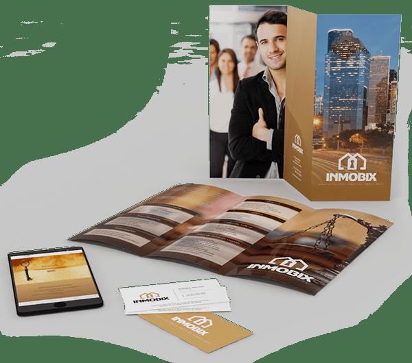 Diseño de folletos, trípticos, dípticos y catálogos