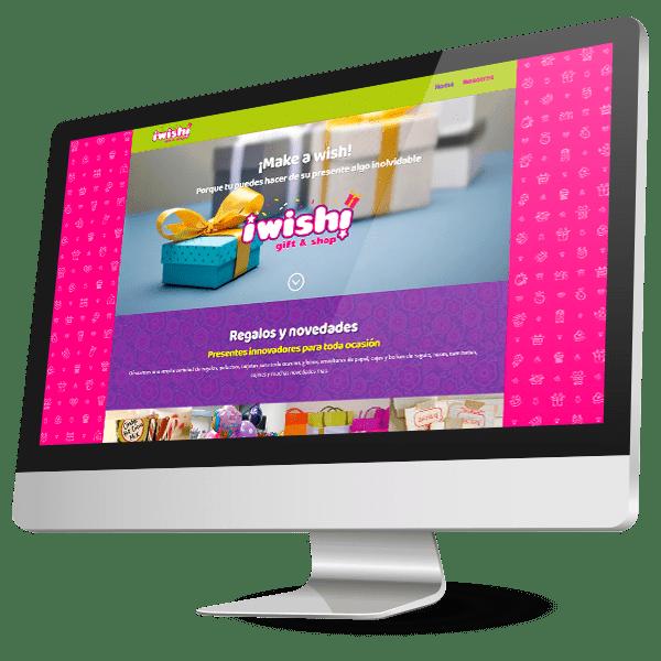 Diseño de catalogo y tienda en línea