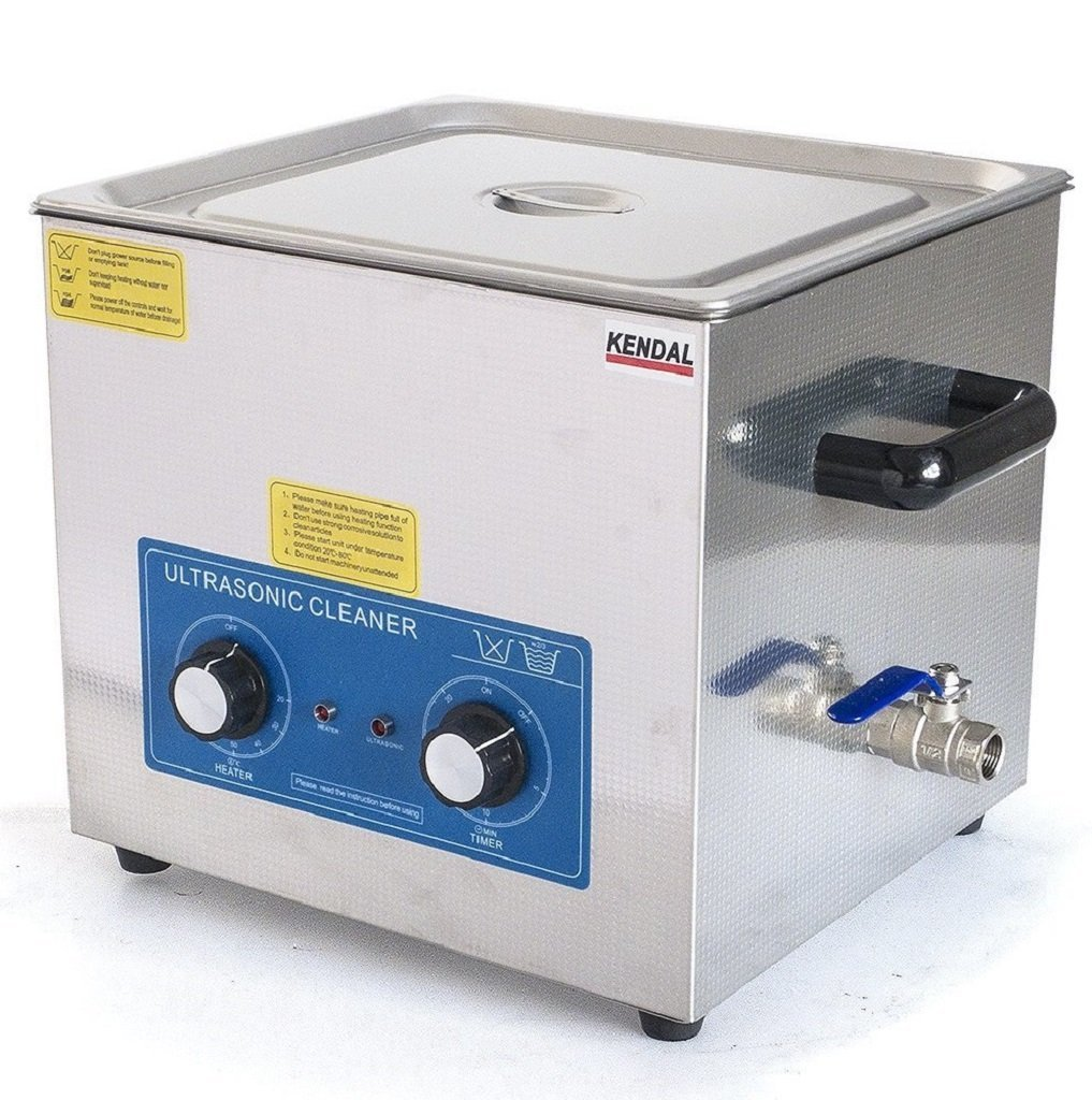 Kendal Commercial grade 760 watts 3.17 gallon heated ultrasonic jewelry & parts cleaner